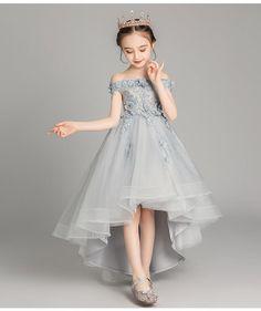 Little Girl Gowns, Toddler Flower Girl Dresses, Gowns For Girls, Frocks For Girls, Girls Party Dress, Birthday Dresses, Little Girl Dresses, Toddler Dress, Girls Dresses