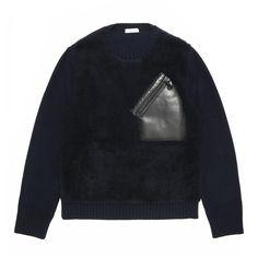 Chest pocket sweatshirt