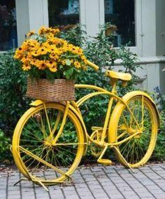 велосипед в ландшафте
