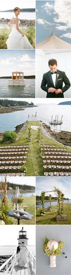 Port Clyde Maine Wedding - hey, I know that place! I'm going to need a Marshall's point picture too