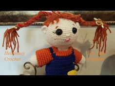 Helenmay Crochet Girl and Boy Doll Part 2 of 3 DIY Tutorial