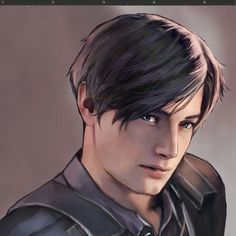 I Love you leon😍😍 Resident Evil Anime, Leon S Kennedy, E Claire, Evil Art, Live Action Film, The Evil Within, Game Character Design, Armin, Videos