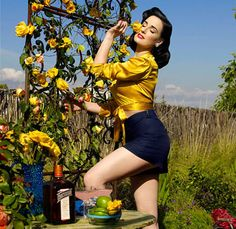 Celebrate Cinco de Mayo with a Margarita and Dita Von Tesse
