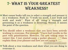 Greatest Weakness Example What Is Your Greatest Weakness Best Answers 6 Proven Examples, What Is Your Greatest Weakness Interview Questions Manu Melwin Joy, What Is Your Greatest Weakness Interview Question Answer, Job Interview Answers, Job Interview Preparation, Interview Skills, Job Interview Tips, Job Interviews, Online Interview, Job Resume, Resume Tips, Resume Help