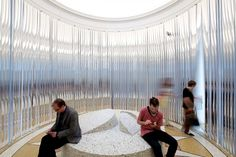 Plastic dust curtains never looked so Luxe! (Venice Biennale 2014)