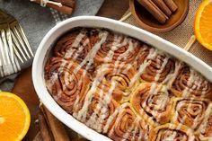 These keto cinnamon rolls are so freaking good! Orange Cinnamon Rolls, Keto Cinnamon Rolls, Low Carb Recipes, Whole Food Recipes, Recipe Filing, Pie Plate, Keto Bread, Grain Free, Meals
