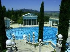 The outdoor pool at Hurst Castle at San Simeon - One of my CA favorites