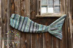 Mermaid Tail Blanket Mermaid Cocoon Mermaid by DandoisLionDeLights