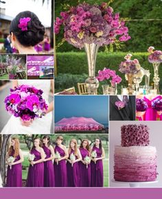 Share Your Colors for an August Wedding : wedding Inspiration Board ...