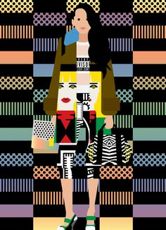 It's Nice That : Illustration: Tremendous fashion images by the indomitable Craig & Karl