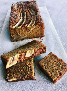 Banana, Carrot and Yoghurt Loaf (Gluten Free)