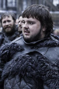 "Samwell Tarly, popularly called Sam, is a major character in the second, third, fourth, fifth, and sixth seasons. He initially appeared as a recurring character in the first season. He is played by starring cast member John Bradley-West and debuts in ""Cripples, Bastards and Broken Things."". Samwell is a steward in the Night's Watch. He is intelligent, well-educated, and insightful, but overweight, unskilled at combat, and believes himself a useless coward (though at least HE openly admits…"