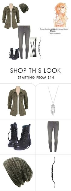 """""""Percy Jackson Outfit Challenge: Day 8"""" by ilovecats-886 ❤ liked on Polyvore featuring Lucky Brand and Dorothy Perkins"""