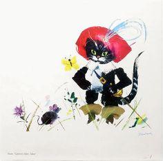""": """"Puss in Boots"""" by Janusz Grabiański."""