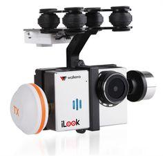 Walkera Gimbal & Camera Combo Walkera G-2D Brushless Gimbal  Walkera iLook HD FPV Camera / Transmitter  www.HobbyFlip.com