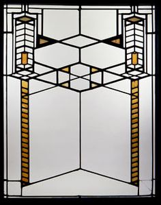 Frank Lloyd Wright Window, Frederick C. Robie Residence, Chicago,ca 1909 Design in the Age of Darwin Review - A Delight   Splash Magazines   Los Angeles