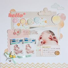 hello* BABY - Scrapbook.com