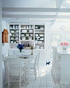 An Open China Cabinet #kitchens