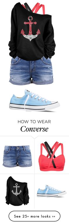 """Beach party at night"" by allyse-sympson on Polyvore"