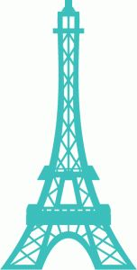 eiffel tower paris 43906----------------------I think I'm in love with this shape from the Silhouette Online Store!