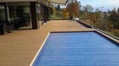 WPC Terrasse und Pool am Zürichsee Wpc Decking, Composite Decking, Swimming Pool Decks, Garden Design, Indoor, Water, Outdoor Decor, Zurich, Switzerland