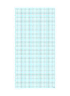 Millimeterpapier Motivdruck Papier