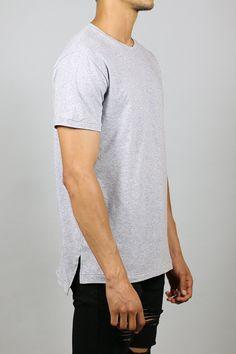 Slit Long T-Shirts