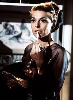 "Anne Bancroft as Mrs. Robinson in ""The Graduate"" (1967)"