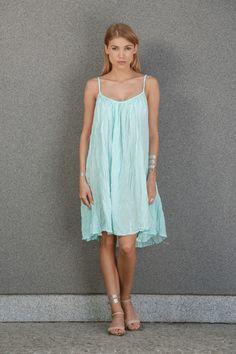Sukienka Short Mint - Bright-Boho - Sukienki na ramiączkach