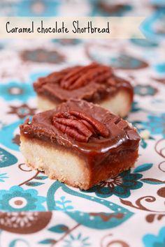 Shortbread Caramel Schokolade