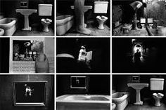 I like how this tells a story Image: duane-michals-things-are-queer Sequence Photography, A Level Photography, Dark Photography, Still Life Photography, Artistic Photography, Photography Business, Conceptual Photography, Creative Photography, Photography Ideas