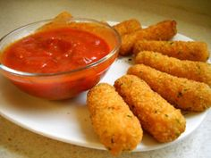 Kids love mozzarella sticks, but why wait for a dinner out? Make these tasty poppers in your own kitchen with this easy recipe.