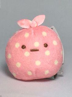 San-X Sumikko Gurashi Furoshiki Tenori Small Plush Pink Doll Kawaii Toy Japan