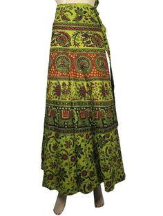 Designer Wrap Around Dresses Hippie Boho Green Sarang Print Wrap Around Skirts for Women Mogul Interior, http://www.amazon.com/gp/product/B009RKH5VG/ref=cm_sw_r_pi_alp_svyFqb0185CEM