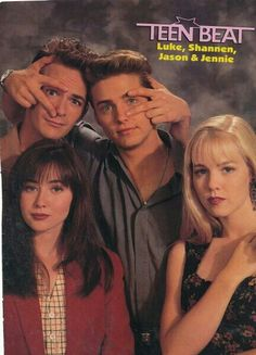 Beverly hills 90210 ... the epitome of high school life in the 90s ...