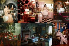 Monishiwa   Moonshine: At Home   How does royal burlesque live? The Abode of Dita Von Teese.