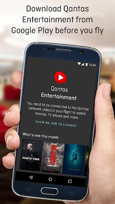 Qantas Entertainment - Apps on Google Play Long Distance Relationship Message, Before You Fly, Google Play, Movies And Tv Shows, Movie Tv, Apps, Entertainment, Messages, App