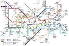 Londin Tube Map Chris Rowles (SRecommends) on Pinterest