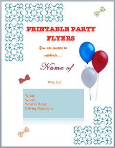 raffle flyers templates