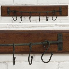 6 Hook Wall Pot Rack 1
