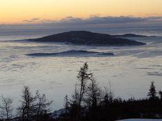 Baie de Sept-Îles à l'aube