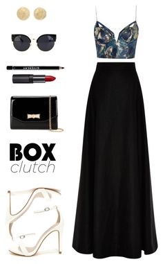 """""""Sem título #67"""" by ouchm4rvel ❤ liked on Polyvore featuring Rosie Assoulin…"""