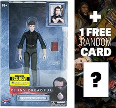 Dr Victor Frankenstein w Sketchbook  Surgical Scissors 6 Penny Dreadful Action Figure Series  1 FREE American TV Themed Trading Card Bundle >>> Check out the image by visiting the link.