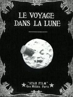'Le Voyage Dans La Lune' (1902) - Click the image for animation!