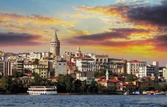 Istanbul at sunset. TomasSereda/Getty Images