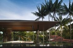 Water Cooled House in Singapore by Wallflower Architecture + Design    Very cool...... No pun intended! ;)