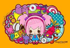 Kawaii Pop Music by mAi2x-chan.deviantart.com on @deviantART
