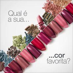 Qual é a sua cor favorita?