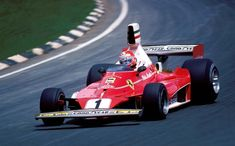 Niki Lauda early 1976 season with the 312T. The airboxes were banned starting at the Spanish Grand Prix