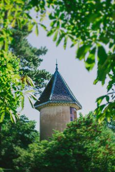 Tourelle du château  / Photo : Lorenzo Accardi